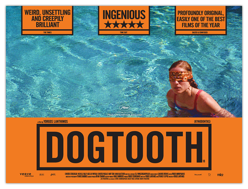 DOGTOOTH - UK quad artwork