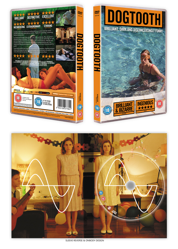 DOGTOOTH - DVD packaging