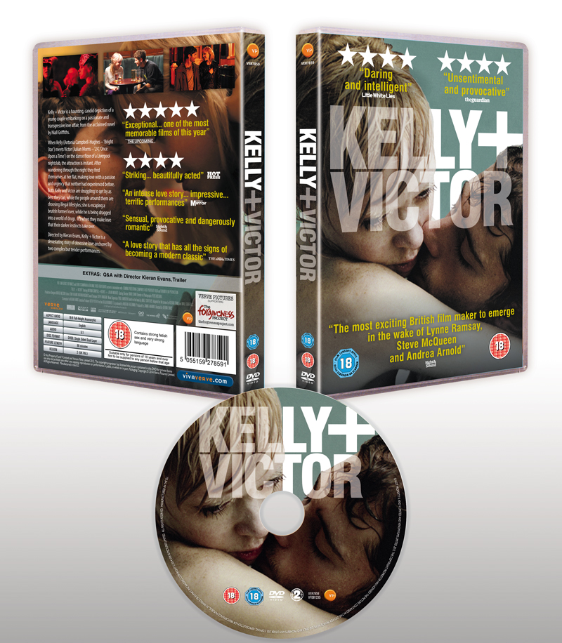 KELLY + VICTOR - DVD packaging design
