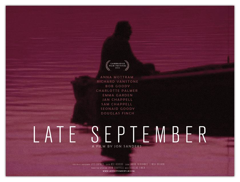 LATE SEPTEMBER - UK quad poster