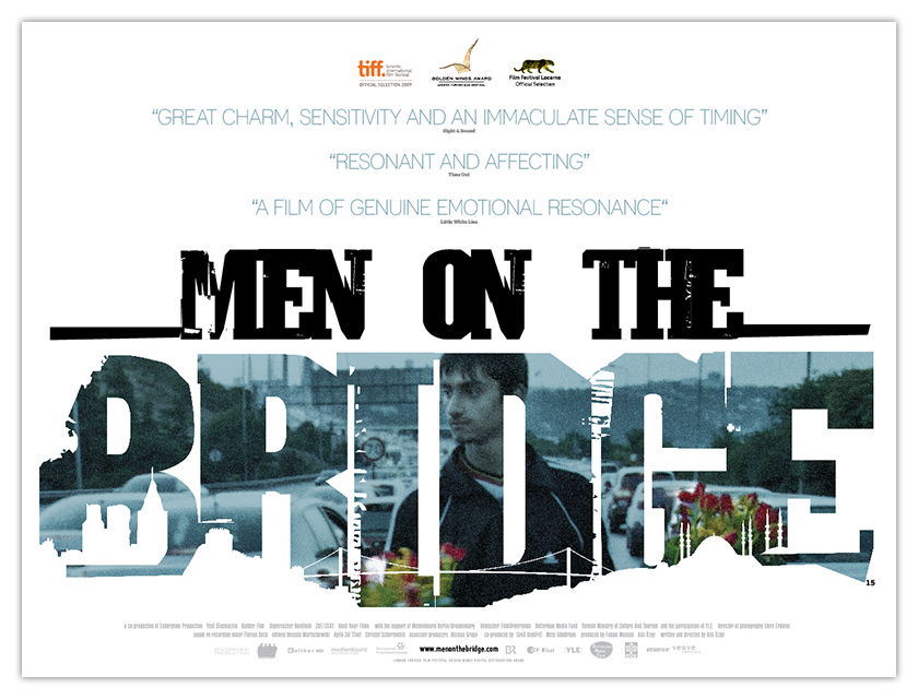 MEN ON THE BRIDGE - UK quad artwork