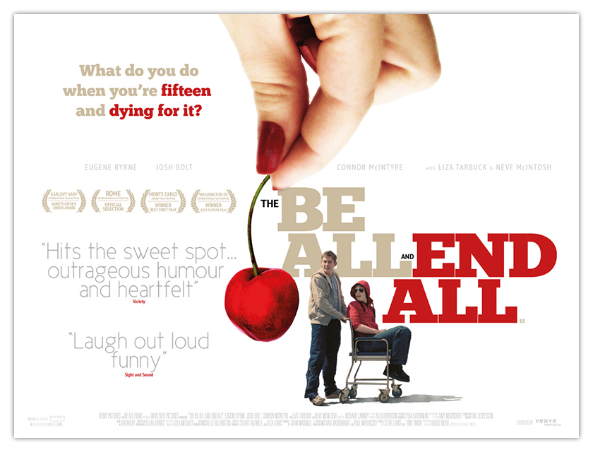 THE BE ALL AND END ALL - UK quad artwork