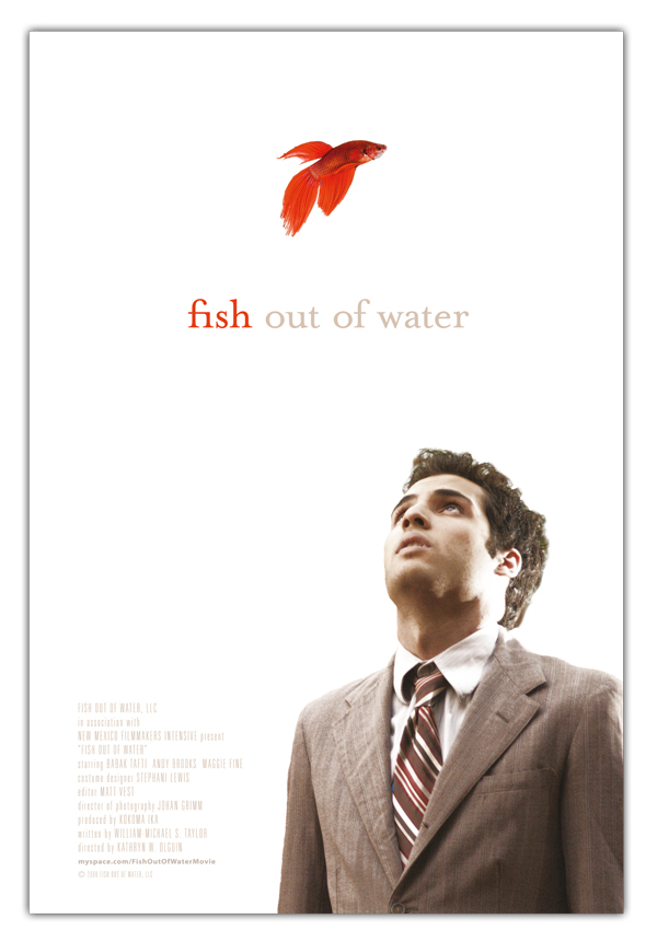 FISH OUT OF WATER - US 1-sheet