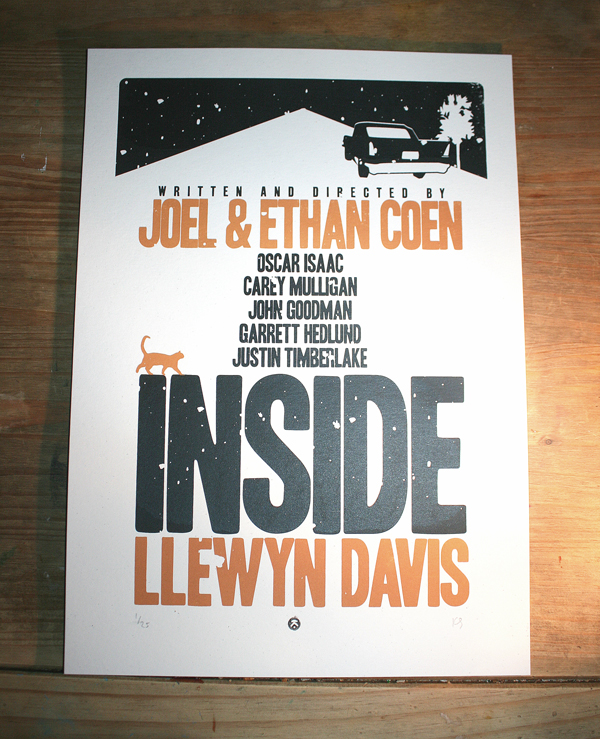 Inside Llewyn Davis - Alt poster