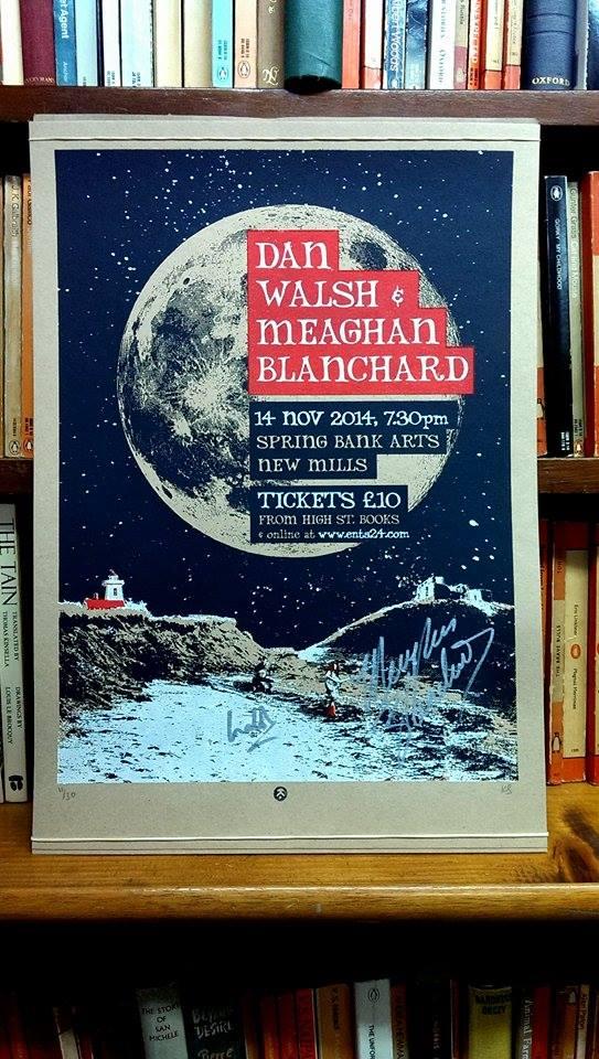 DAN WALSH & MEAGHAN BLANCHARD screen print