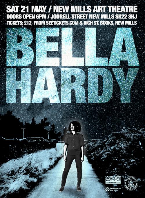 BELLA HARDY gig poster design