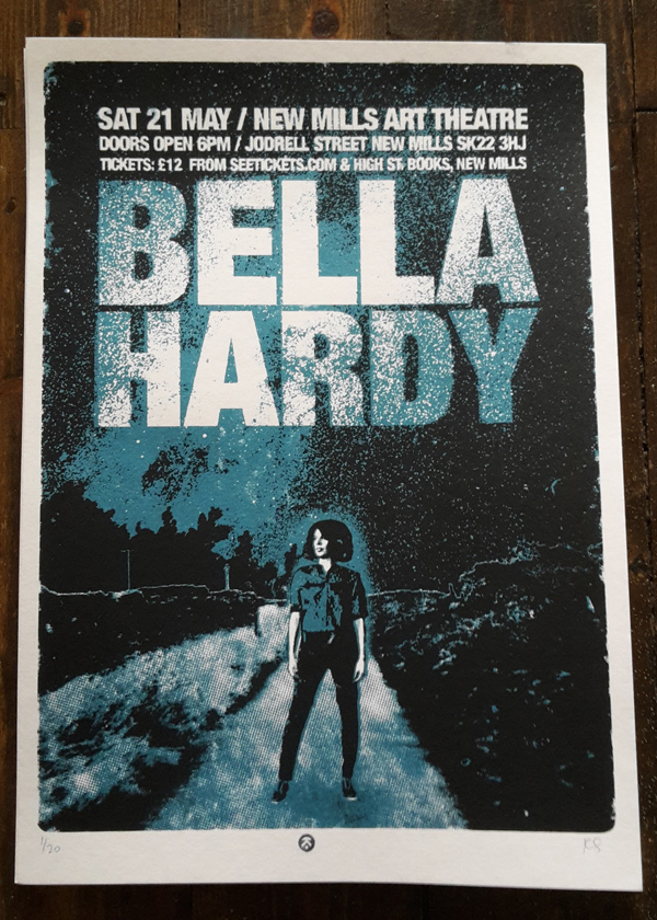 BELLA HARDY screenprint