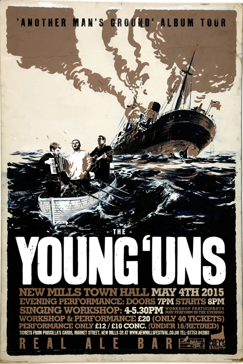 YOUNG UN'S GIG POSTER